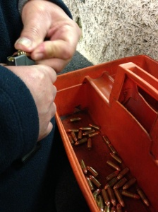 loading bullets