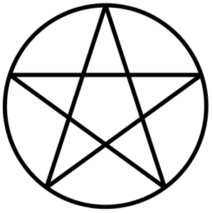 Pentagram_within_circle