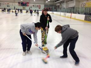 curling sweep
