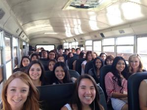 grad nite bus before
